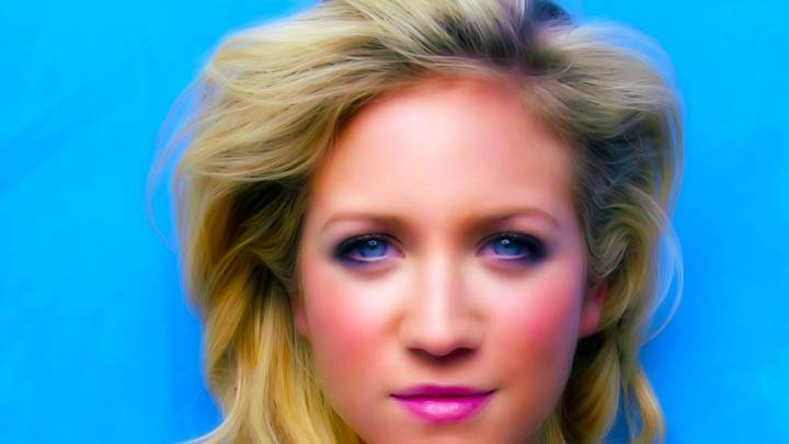 Brittany Snow Blue Eyes Pink Lips