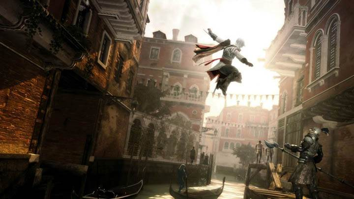 Ezio Assassin's Creed 2 Killing Jump