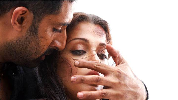 Abhishek And Aishwarya In Movie Raavan