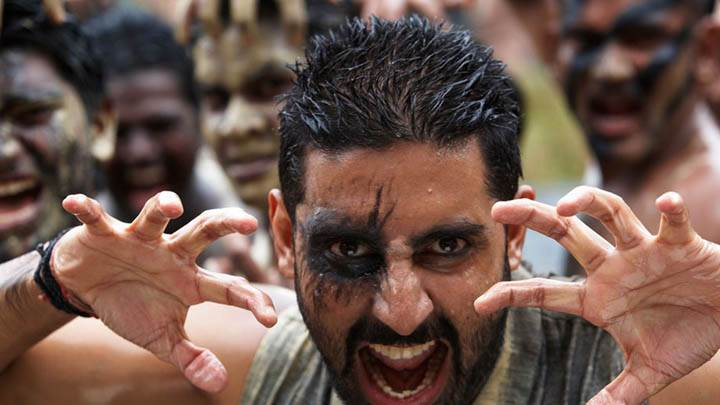 Abhishek Bachchan Killer Look In Raavan Movie