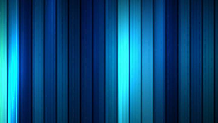 Cool Blue Stripes