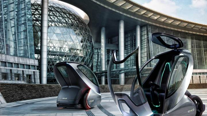 General Motors EN V Concept Future Car