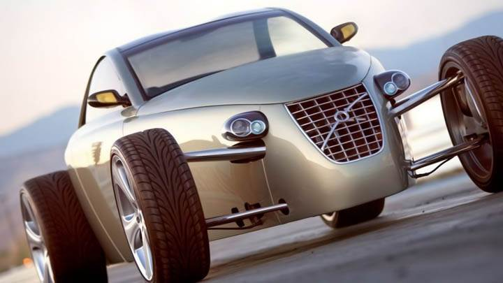 Volvo T6 Roadster Hot Rod Concept 2005 Front View