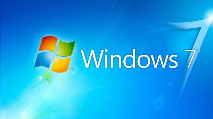 Windows 7 HD Blue Background With Logo