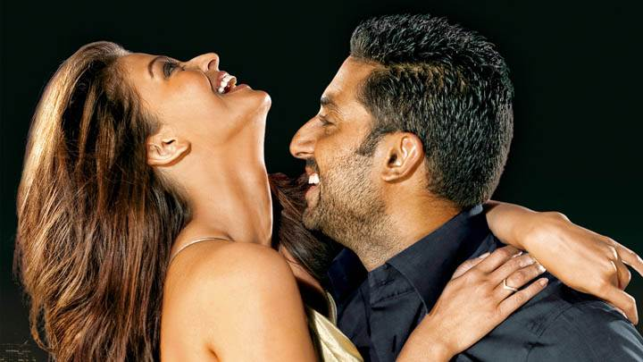 Abhishek And Aishwarya Hugging Each Other