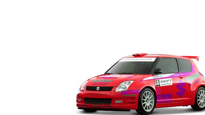Suzuki Swift Sport Red Racing Version