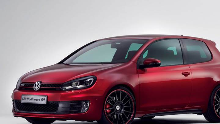 Volkswagen GTI Worthersee 09 Concept In Red Color