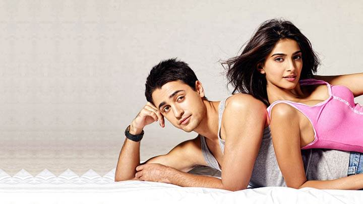 Sonam Kapoor And Imran Khan Cover Poster I Hate Luv Storys