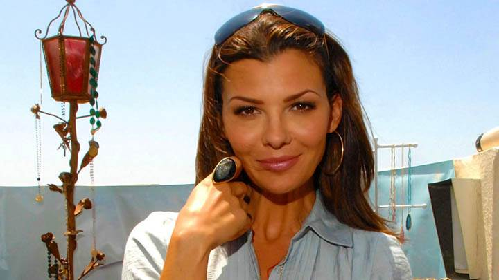 Ali Landry Face Camera Looks Ring In Finger