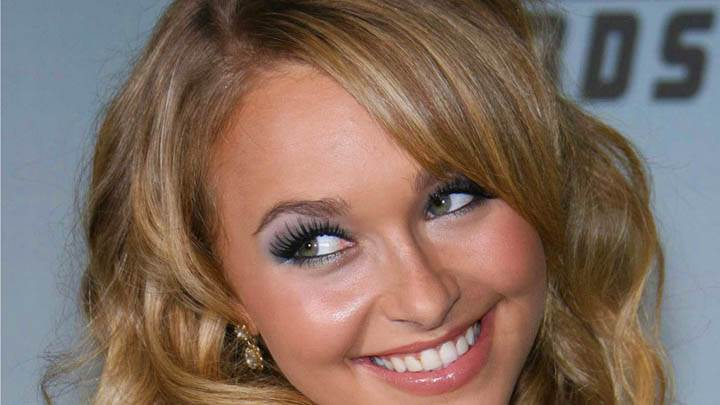 Hayden Panettiere Camera Face Closeup And Smiling