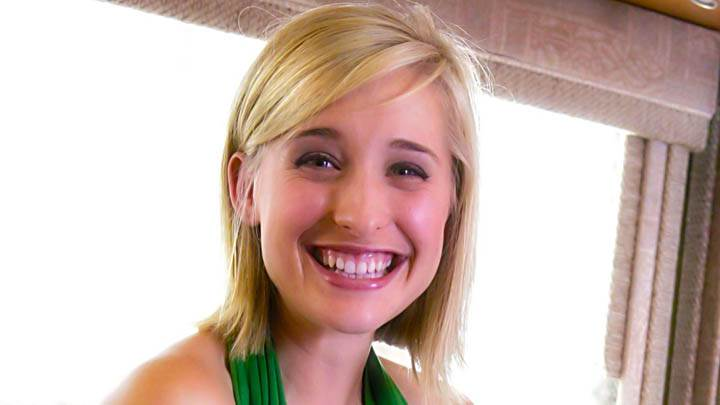 Allison Mack Laughing At Camera