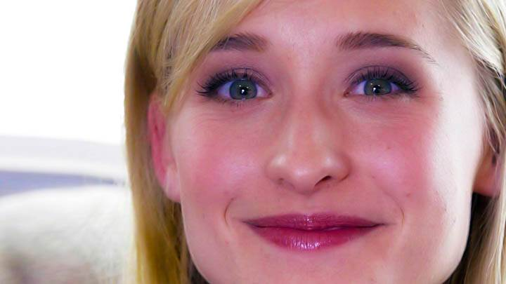 Allison Mack Ultra Face Close Up