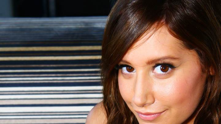 Ashley Tisdale Looking At Camera Sweet Smile