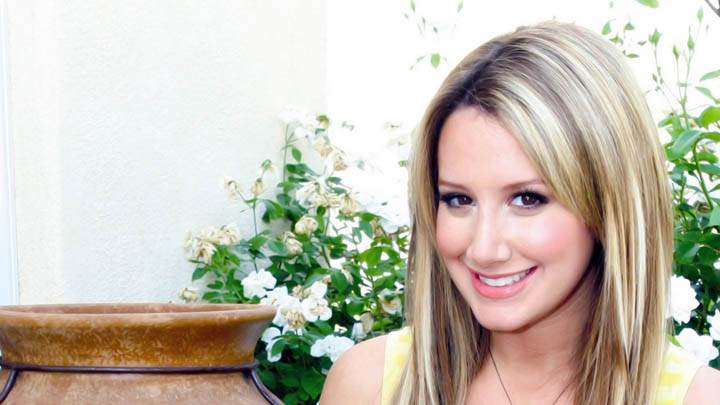 Ashley Tisdale Smiling