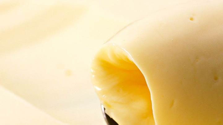 Butter Spreading Closeup Picture