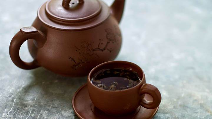 Japanese Tea Cattle And Cup