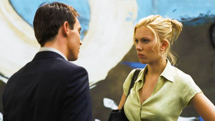 Match Point Scarlett Johansson In Green Shirt