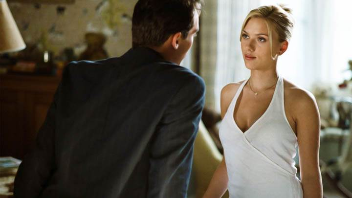 Match Point Scarlett Johansson In White Dress