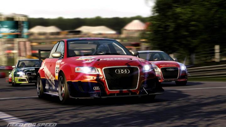 Need For Speed Shift Audi Red Racing