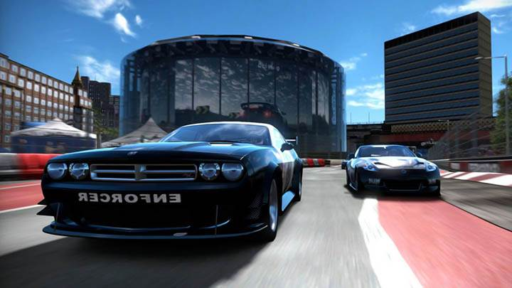 Need For Speed Shift Blue Racing Car