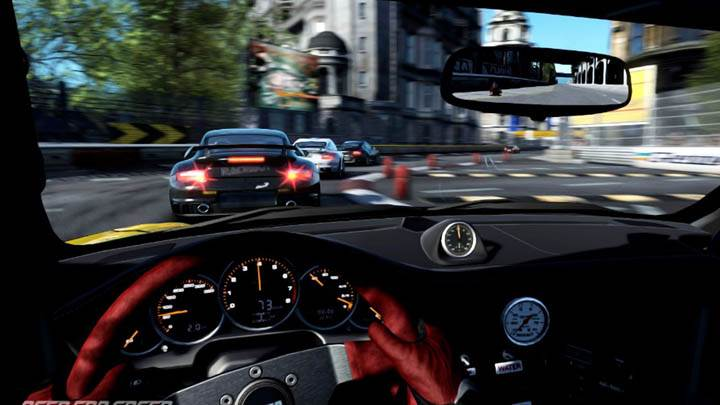 Need For Speed Shift Porsche Interior