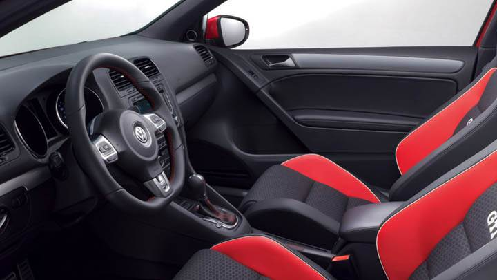 Volkswagen Gti Worthersee 09 Concept Interior Seats And Stearing