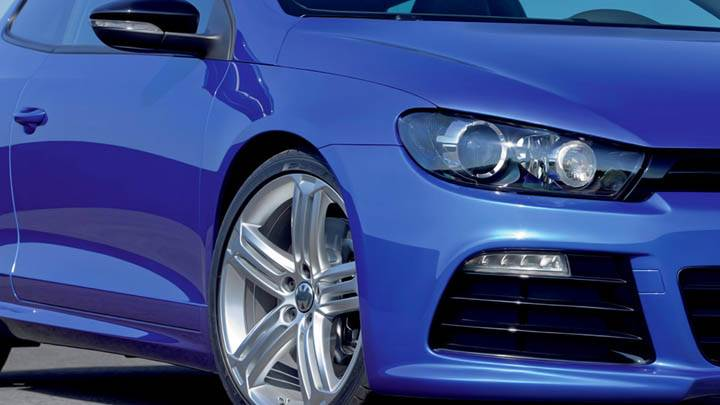 Volkswagen Scirocco R Front Left Tier Headlamp Blue Car