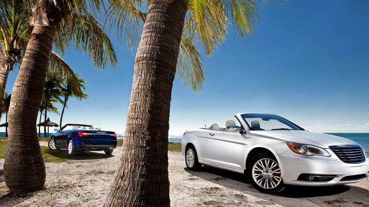 2011 Chrysler 200 Convertible Near Beach