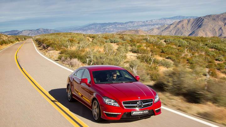 2012 Mercedes-Benz CLS63 AMG Front