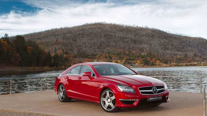 2012 Mercedes-Benz CLS63 AMG Front Side