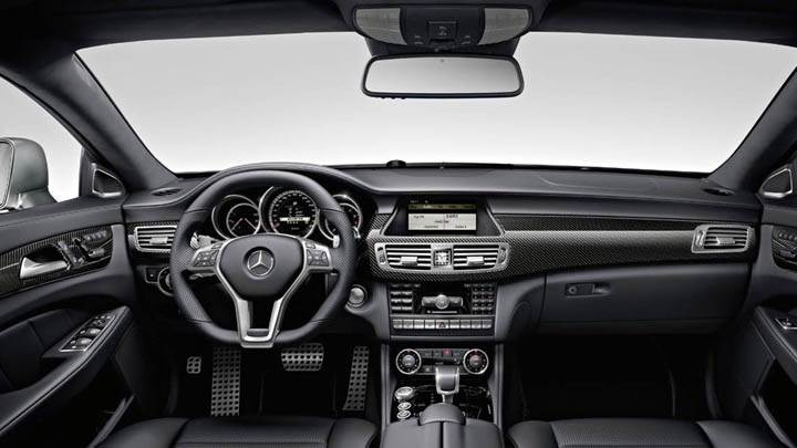 2012 Mercedes-Benz CLS63 AMG Interior Shoot