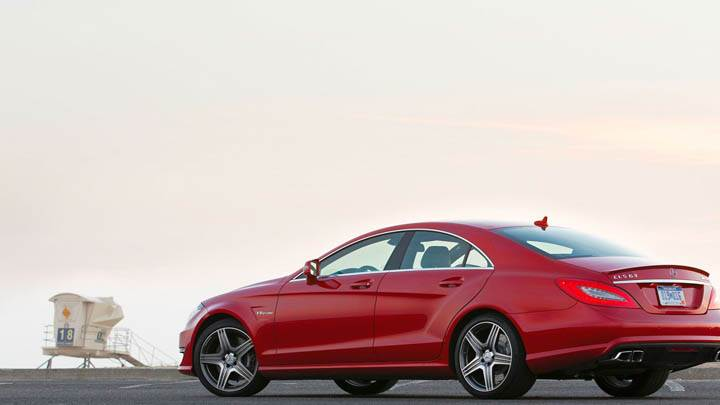 2012 Mercedes-Benz CLS63 AMG Side Pose