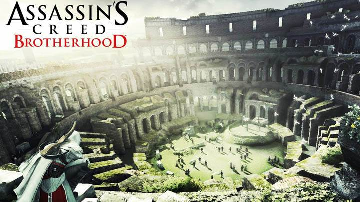 Assassins Creed Brotherhood Ezio Spying