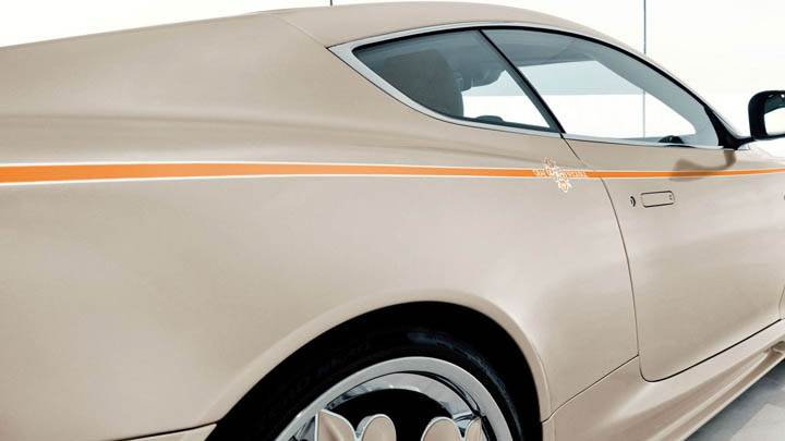 Aston Martin DBS Side Closeup View
