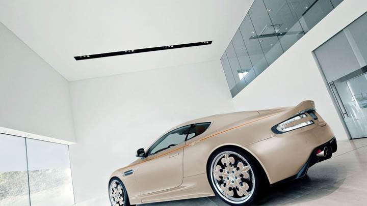 Aston Martin DBS Side View