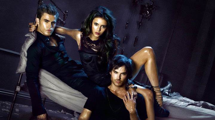 Awesom Dark Wallpaper from Vampire Diaries