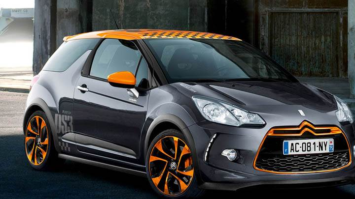Citroen DS3 Racing Front Side View