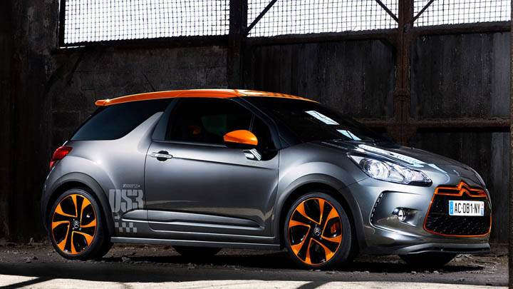 Citroen DS3 Racing Standing In Bunker