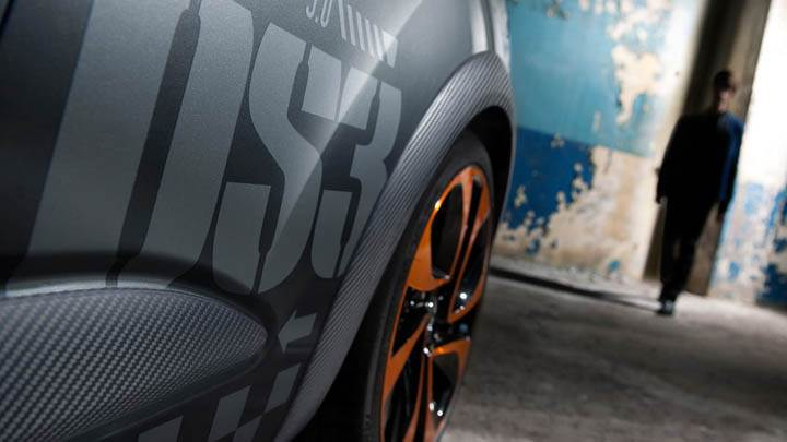 Citroen DS3 Racing Tyre Closeup