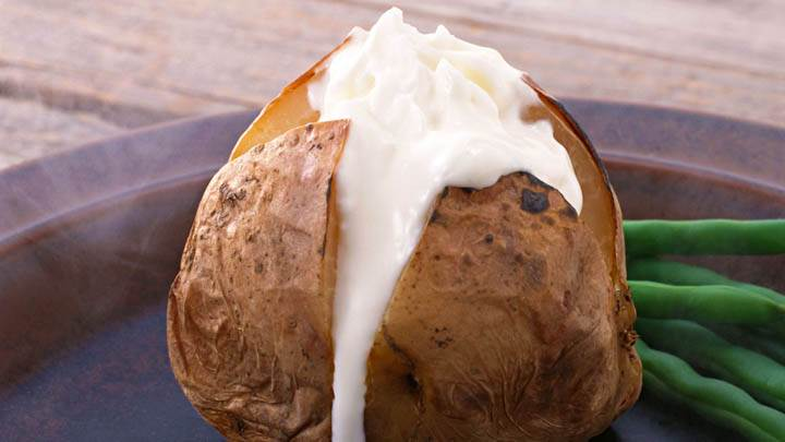 Cream Filled In Roasted Potato