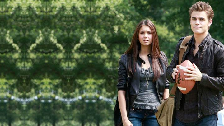 Elena And Stefan in Playground