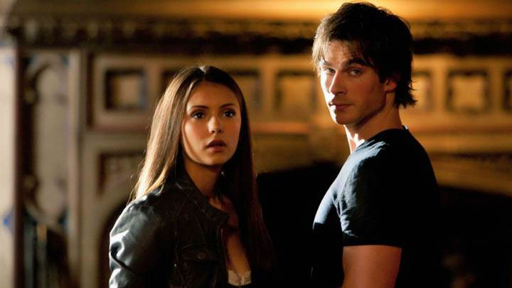 Elena Talking To Damon