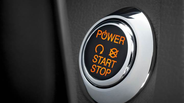 Ford Focus EV Power Switch