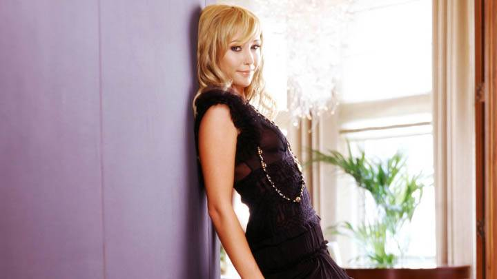 Jenny Frost Black Transparent Dress