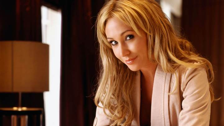 Jenny Frost Smiling Looking Front At Camera