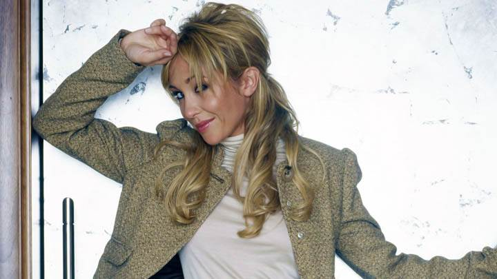 Jenny Frost Nice Pose Hand On Head