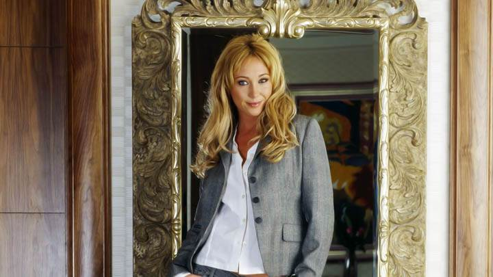 Jenny Frost Standing Mirror Modeling Pose