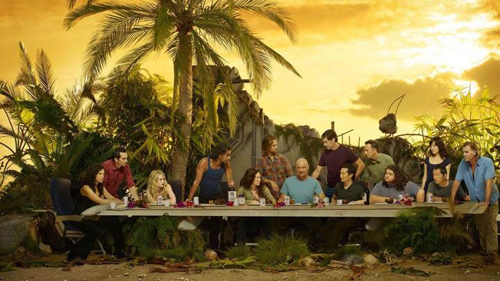 Lost TV Series All Characters Sitting