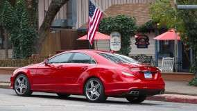 Mercedes-Benz CLS63 AMG 2012 Outside Caffe