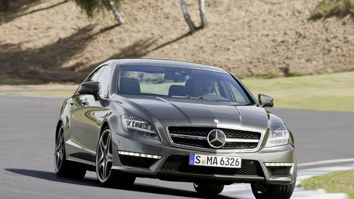 Mercedes-Benz CLS63 AMG 2012 on Highway